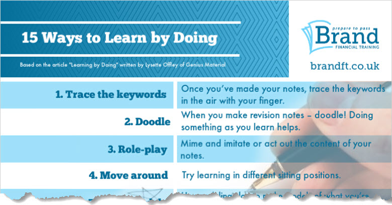 15 Ways to Learn By Doing - excerpt