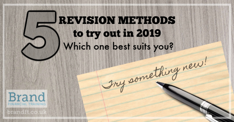 5 revision methods to try out in 2019 - which one best suits you?