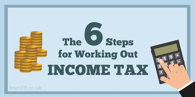 The 6 Steps for Working Out Income Tax
