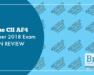 The CII AF4 October 2018 Exam in Review