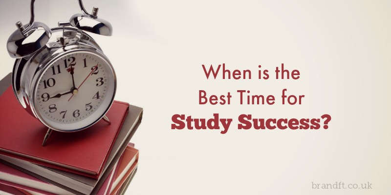 When is the Best Time for Study Success?