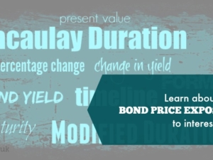 Learn about your bond price exposure to interest rates