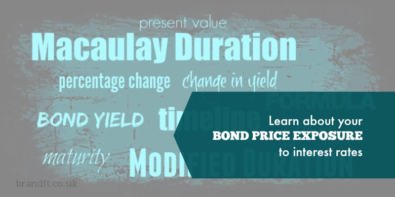 Learn about your bond proce exposure to interest rates