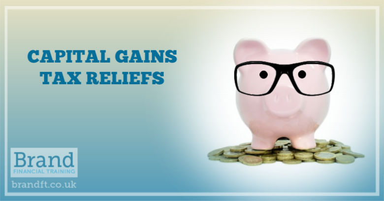 Capital Gains Tax Relief