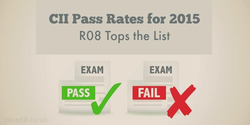 CII Exam Pass Rates 2015