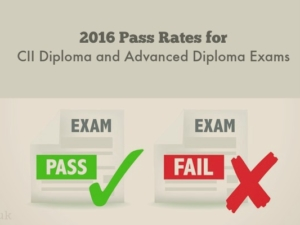 2016 Pass Rates for CII Diploma and Advanced Diploma Exams