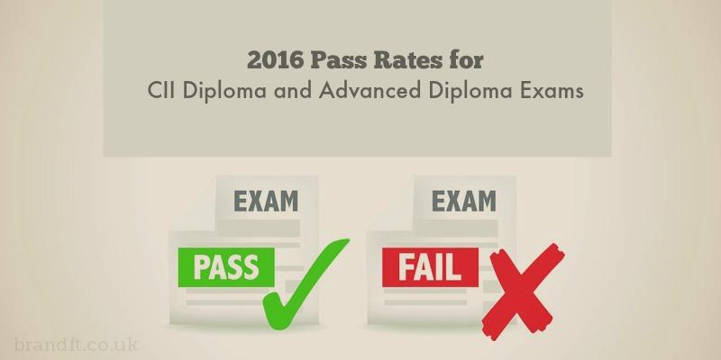 CII Exam Pass Rates 2016