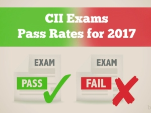 CII Exams Pass Rates for 2017