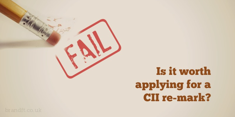 Is it worth applying for a CII re-mark?