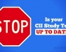 Stop! Is your CII Study Text UP TO DATE?