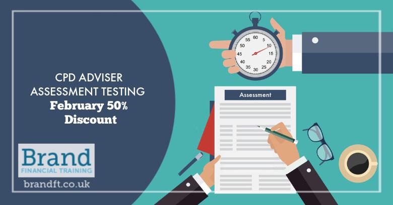 CPD Adviser Assessment Tsting - February 50% Discount