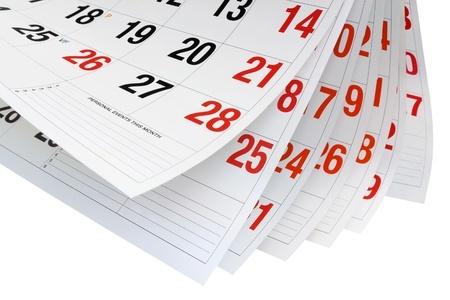 Calendar Pages - Waiting for CII AF3 Results in December