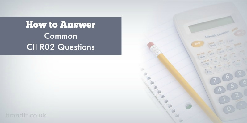 How to Answer Common CII R02 Questions