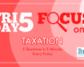 Friday Five Focus on Taxation