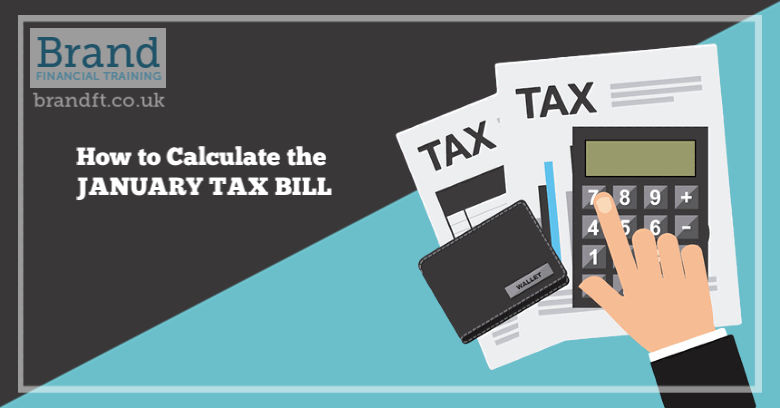 How to Calculate the January Tax Bill