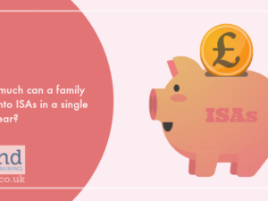 How much can a family pay into ISAs in a single tax year?