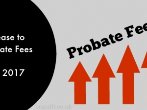 Increase to Probate Fees from May 2017