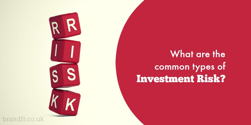 What are the common types of investment risk?
