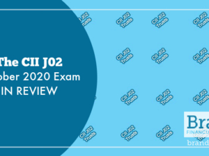 The CII J02 October 2020 Exam in Review