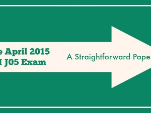 The April 2015 CII J05 Exam – A Straightforward Paper