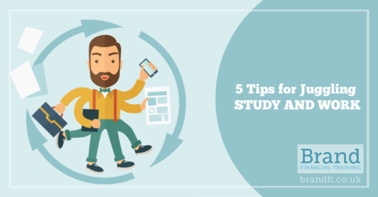 5 Tips for Juggling Study and Work