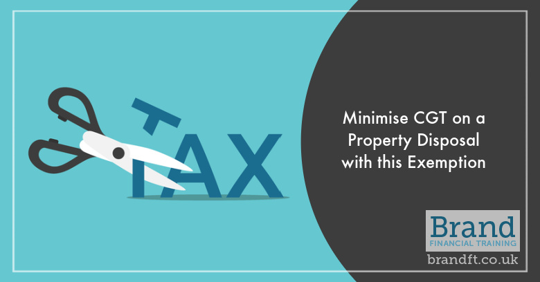 Minimise CGT on a Property Disposal with this Exemption