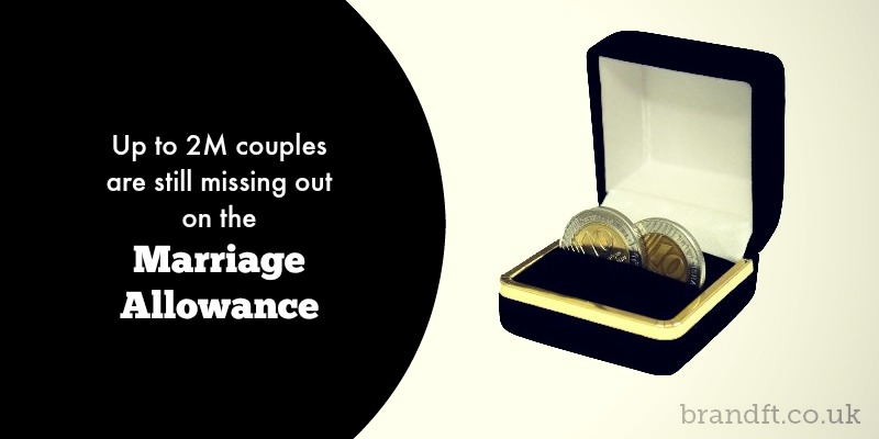 Up to 2 Million Couples Are Still Missing Out on the Marriage Allowance