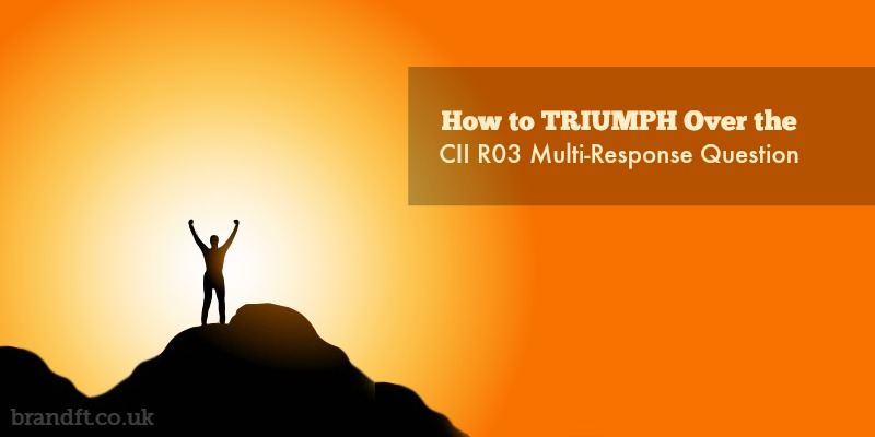 How to Triumph Over the CII R03 Multi-Response Question