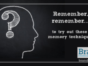 Remember, remember… to try out these memory techniques