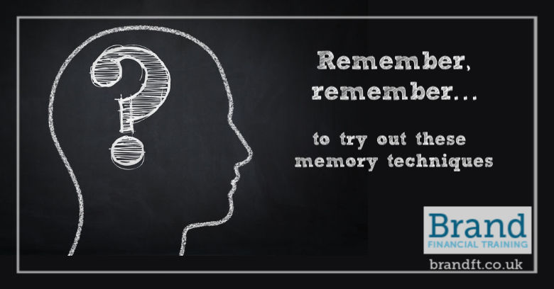 Remember, remember... to try out these memory techniques