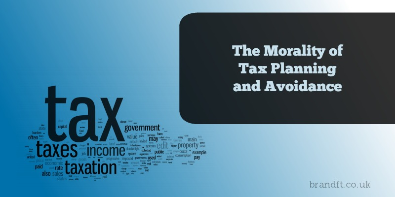 The Morality of Tax Planning and Avoidance