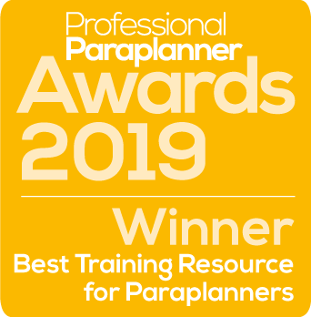 Winner, Best Training Resources for Paraplanners 2019