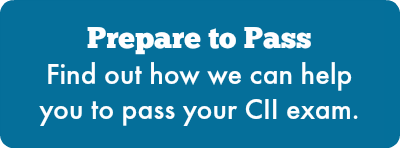 Prepare to Pass - Find out how we can help you to pass your CII exam.