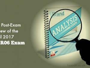 Our Post-Exam Review of the April 2017 CII R06 Exam