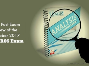 Our Post-Exam Review of the October 2017 CII R06 Exam
