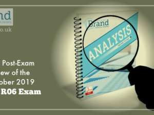 Our Post-Exam Review of the October 2019 CII R06 Exam