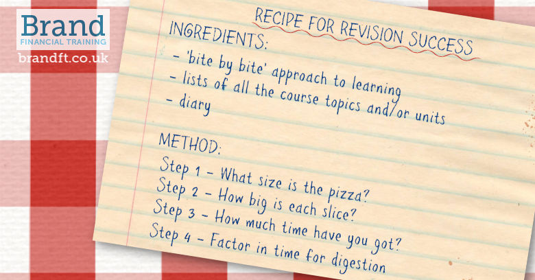 Recipe for Revision Success