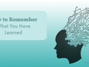 How to Remember What You Have Learned