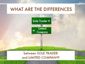 What are the differences between Sole Trader and Limited Company?