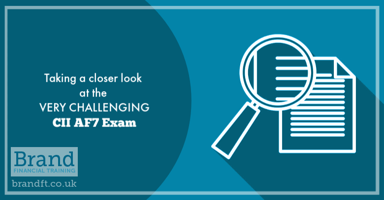 Taking a Closer Look at the VERY CHALLENGING CII AF7 Exam