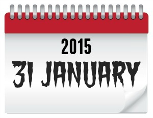 The dreaded tax payment due date - 31 January 2015