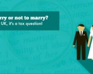 To marry or not to marry? In the UK, it's a tax question!