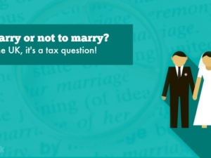 To marry or not to marry? In the UK, it's a tax question!