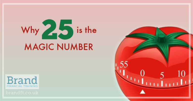 Why 25 is the Magic Number